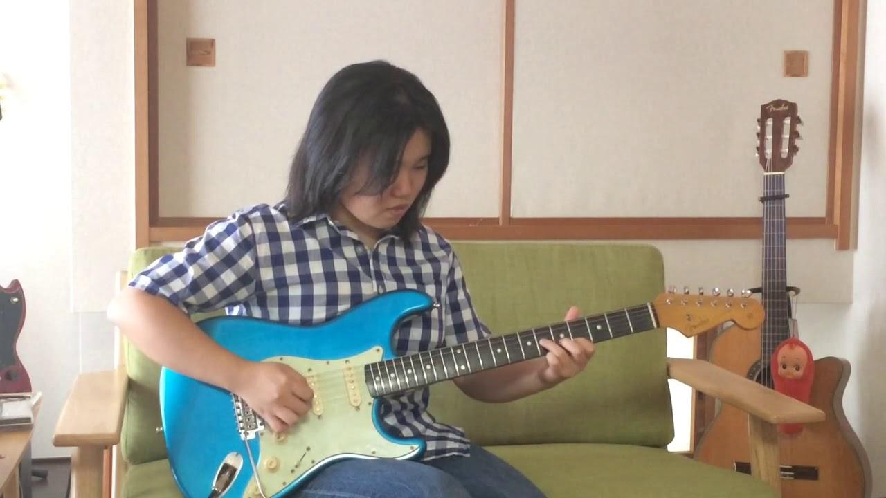 momo guitar「BLUE LAGOON」/ 高中正義 guitar cover