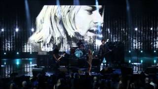 Repeat youtube video Kim Gordon of Sonic Youth and Nirvana - Aneurysm [HD]