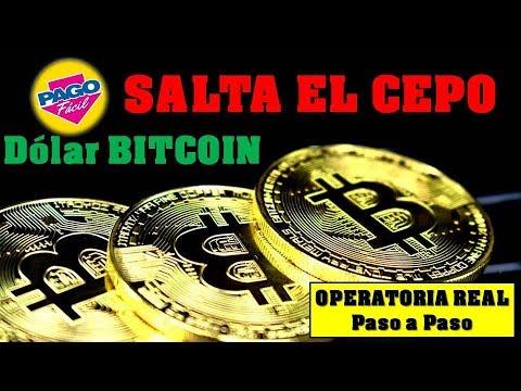 SALTA El CEPO Al DÓLAR Comprando Dólar BITCOIN En Pesos❤Pago Facil❤Paso A Paso️❤