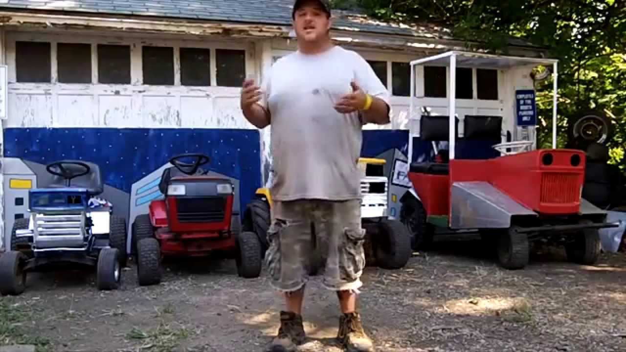 Fatboy Dan S Redneck Lawn Mower Derby Preview September