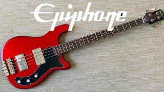 Epiphone Embassy Bass 2021 [2 Minute Demo]