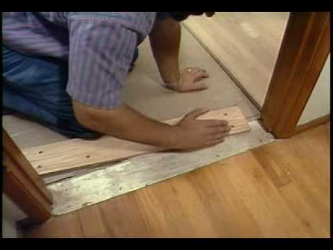 Pulling The Walls Stairs And Doorways Laying Hardwood Floors