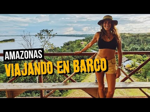 CAPITULO 4: Amazonas: de Manaos a Iquitos en barco de Carga y Centros de rescate