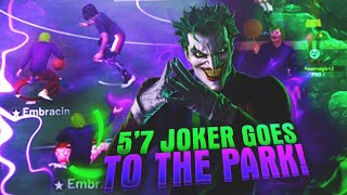 The joker comes out of retirement and drops off 99 trash talker‼️‼️