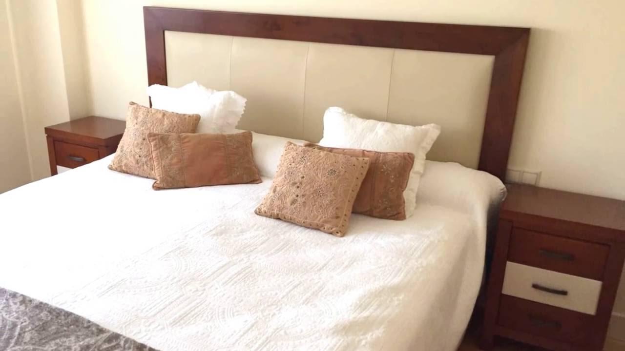 Muebles de dormitorio con cabecero tapizado | tudecora.com - YouTube