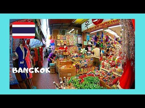 BANGKOK, the graphic INDIAN MARKET of PHAHURAT (THAILAND)