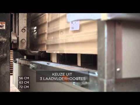 Plateauwagen van Eduard's Trailer Factory