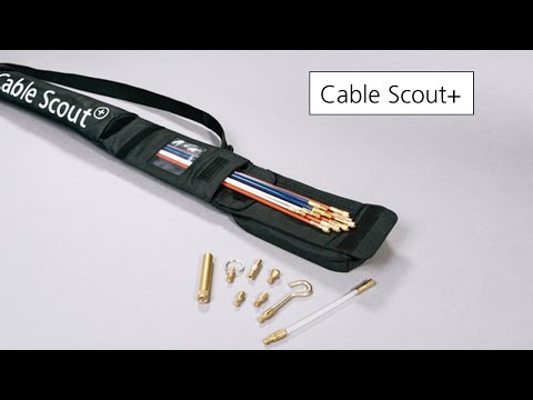 kabel einziehen leicht gemacht kabelinstallation mit system cable scout de. Black Bedroom Furniture Sets. Home Design Ideas