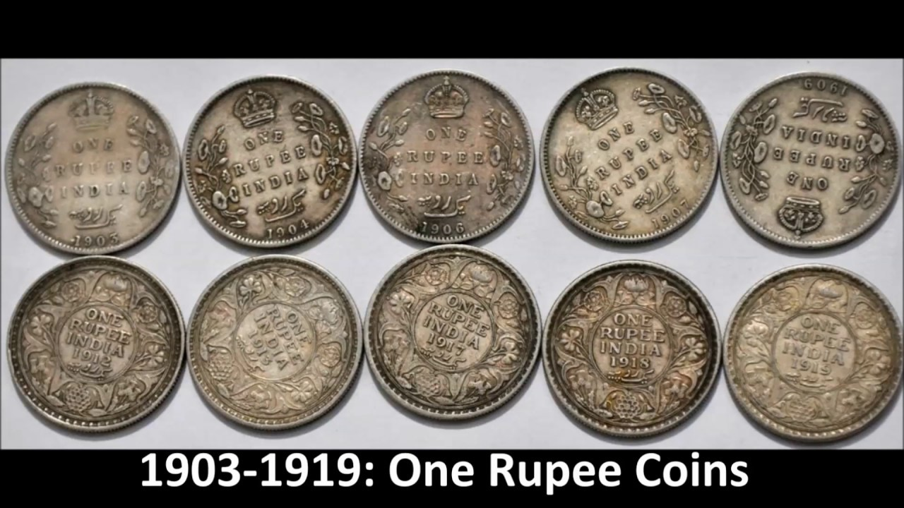 Transition Of Indian Currency Coins