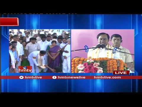 Telangana CM KCR Powerful Speech at Siddipet | hmtv