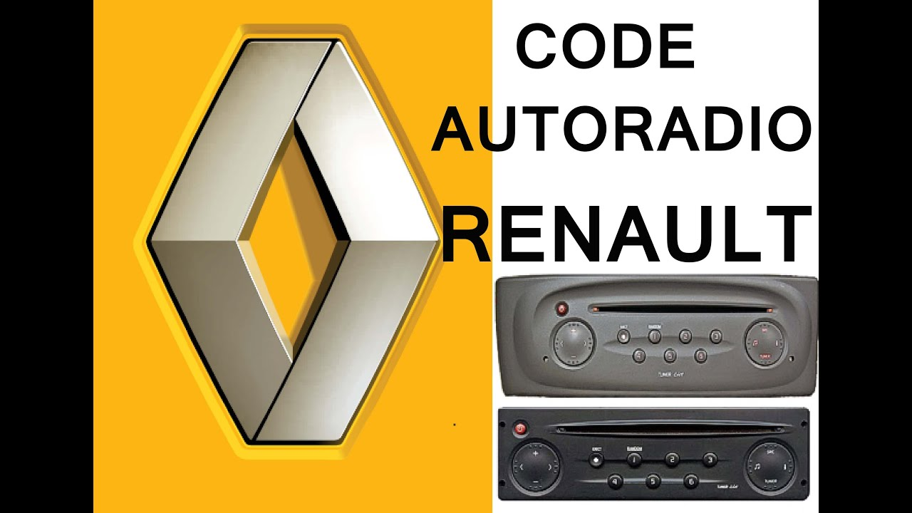 recuperer code radio renault youtube. Black Bedroom Furniture Sets. Home Design Ideas