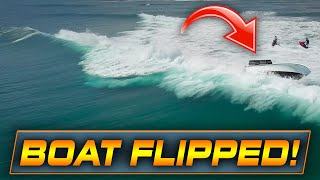 Haulover Inlet boat flips with 6 passengers