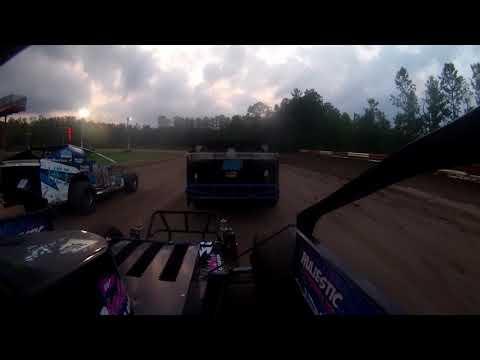 Utica-rome speedway open sportsman heat race  8-26-2018