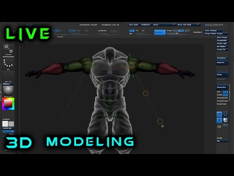 Making an Action Figure from Scratch | 3d Modeling in ZBrush | 7