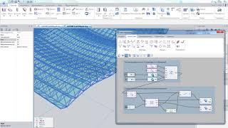 САПФИР 2018: создание пространственной фермы с помощью параметрического моделирования