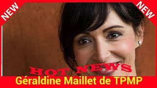 Géraldine Maillet de TPMP explique pourquoi la maladie de sa mère lui faisait honte