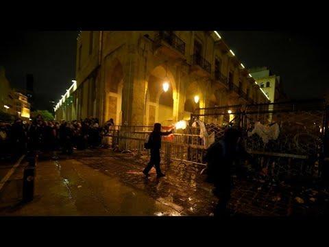 لبنان: دعوة لمظاهرات جديدة بعد إصابة المئات في مواجهات بين المتظاهرين والشرطة  - 12:59-2020 / 1 / 19