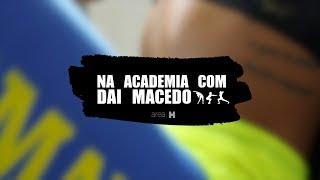 Na Academia com Dai (Macedo Miss Bum bum 2013)