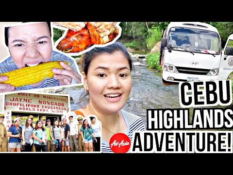 CEBU HIGHLANDS ADVENTURE!!! ♡ | makeupbykarlamisa Vlogs