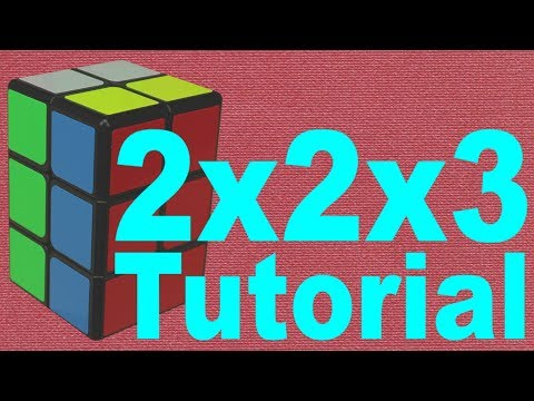 How to Solve the 2x2x3 Cuboid [Easy Tutorial]
