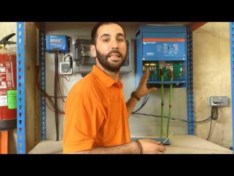 Inversor Cargador Victron Multiplus 48/5000/70: Tutorial de instalación