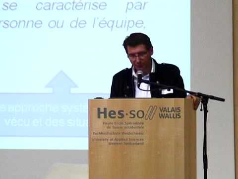 Event 21/04/2011 -  Eric Michellod, HES-SO Valais - Ressources humaines
