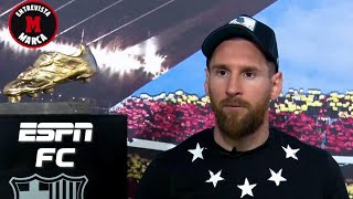 Lionel Messi opens up about Barcelona future & Frenkie de Jong's progress | La Liga