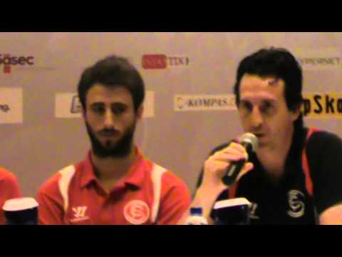 Sevilla FC Press Conference in Jakarta