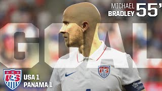 MNT vs. Panama: Michael Bradley Goal - July 13, 2015