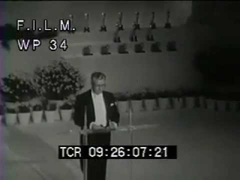 1952 Academy Awards (stock footage / archival footage)