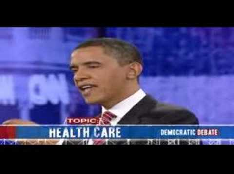 Universal Health Care Democratic Debate 01-21-08