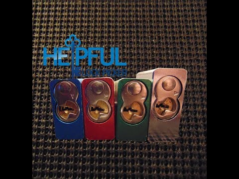[87] Four American Locks Picked Back-To-Back and Gutted