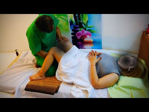 Massage Thai part1 in Vietnamese relaxing experience and in my videos