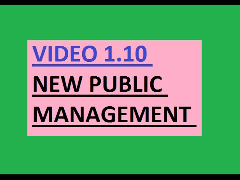 new public management in canada essay