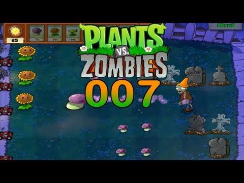 let's-play-plants-vs-zombies-#007-totengräber-(full-hd)│letsplaychanneley