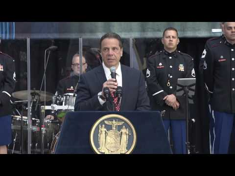 Governor Andrew M. Cuomo at the 2017 New York International Auto Show