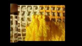 Видео Мастер-Класс коврика на сетке.