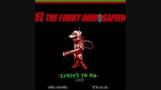 Del The Funky Homosapien - Lyrics To Go 2009