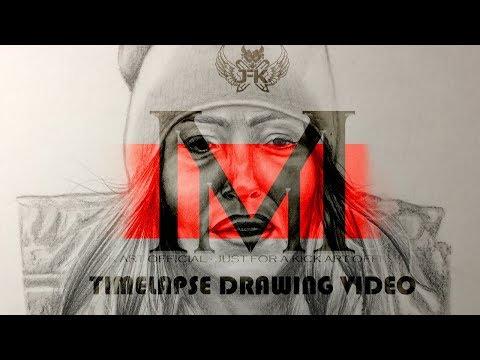 Senidah - Timelapse drawing