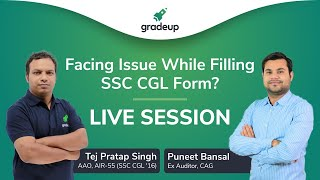 Facing Issues while filling up CGL form? Ask your doubts LIVE | Session @ 2 PM
