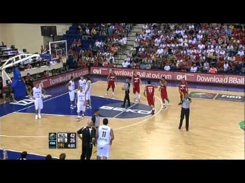 2010 FIBA World Champs Tall Blacks vs Lebanon - Group D - 31st August