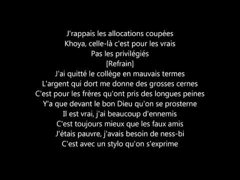 La Fouine - Ennemis Lyrics
