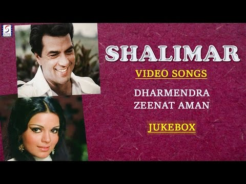 Super Hit Hindi Songs l Dharmendra & Zeenat Aman l Shalimar l Jukebox