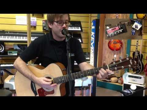 Nate Demonstrates Harmony Singer Pedal at B&B Music in Lewes, DE