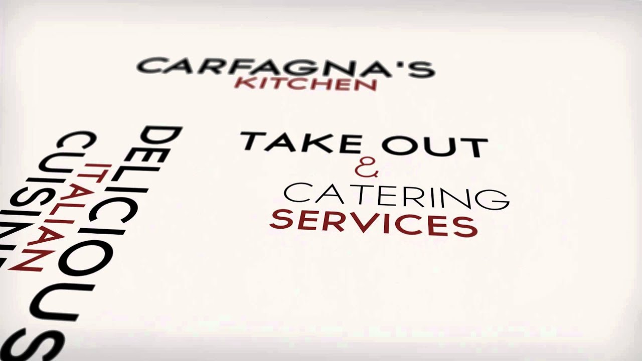 Carfagna\'s Kitchen - Italian Restaurant Columbus, OH - YouTube