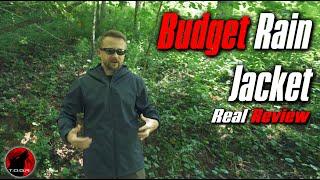 Budget Friendly Rain Jacket - GYMAX Rain Jacket - Real Review