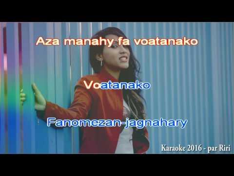 Stephanie - Mila fitiavana (karaoke by Riri)