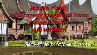 Andra respati   ovhi firsty Manunggu janji, lagu minang terbaru lirik terjemah indonesia