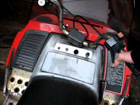 hqdefault 1979 yamaha enticer 250 start up youtube yamaha enticer 250 wiring diagram at love-stories.co