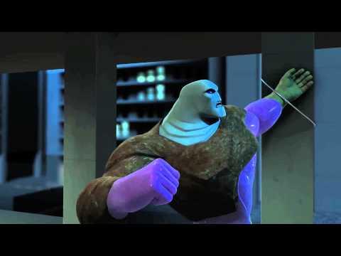 """Toxic"" BEWARE THE BATMAN Episode # 6 Animated Cartoon Network TV Series"